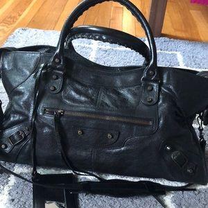 💕100% Authentic Balenciaga Part Time bag w Strap